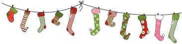 Image result for christmas stocking divider